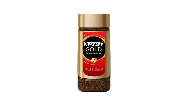 Nescafe Gold Blend Decaf Freeze Dried Instant Coffee